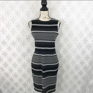 Calvin Klein striped dress size 2